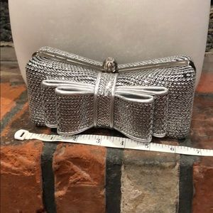 Lulu Townsend sequin Bow clutch